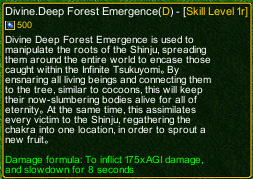 naruto castle defense 6.0 Rikudo Madara Divine Deep Forest Emergence detail