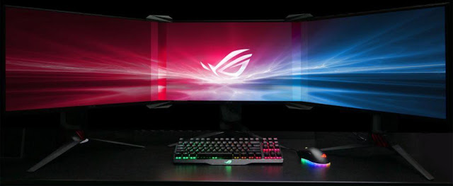 Bezel-Free Kit ASUS ROG Reflector Between Monitors