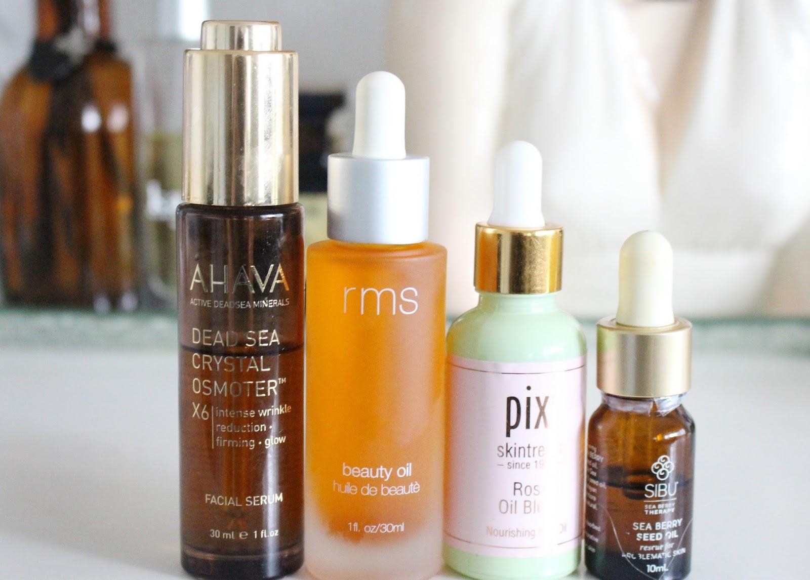 beauty oils for combination skin, facial oils for combination skin