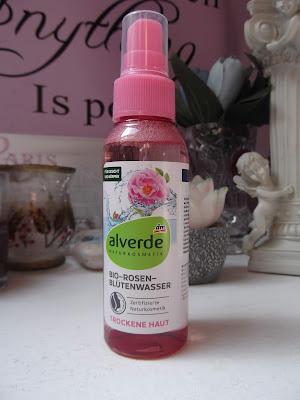 ružová voda od Alverde