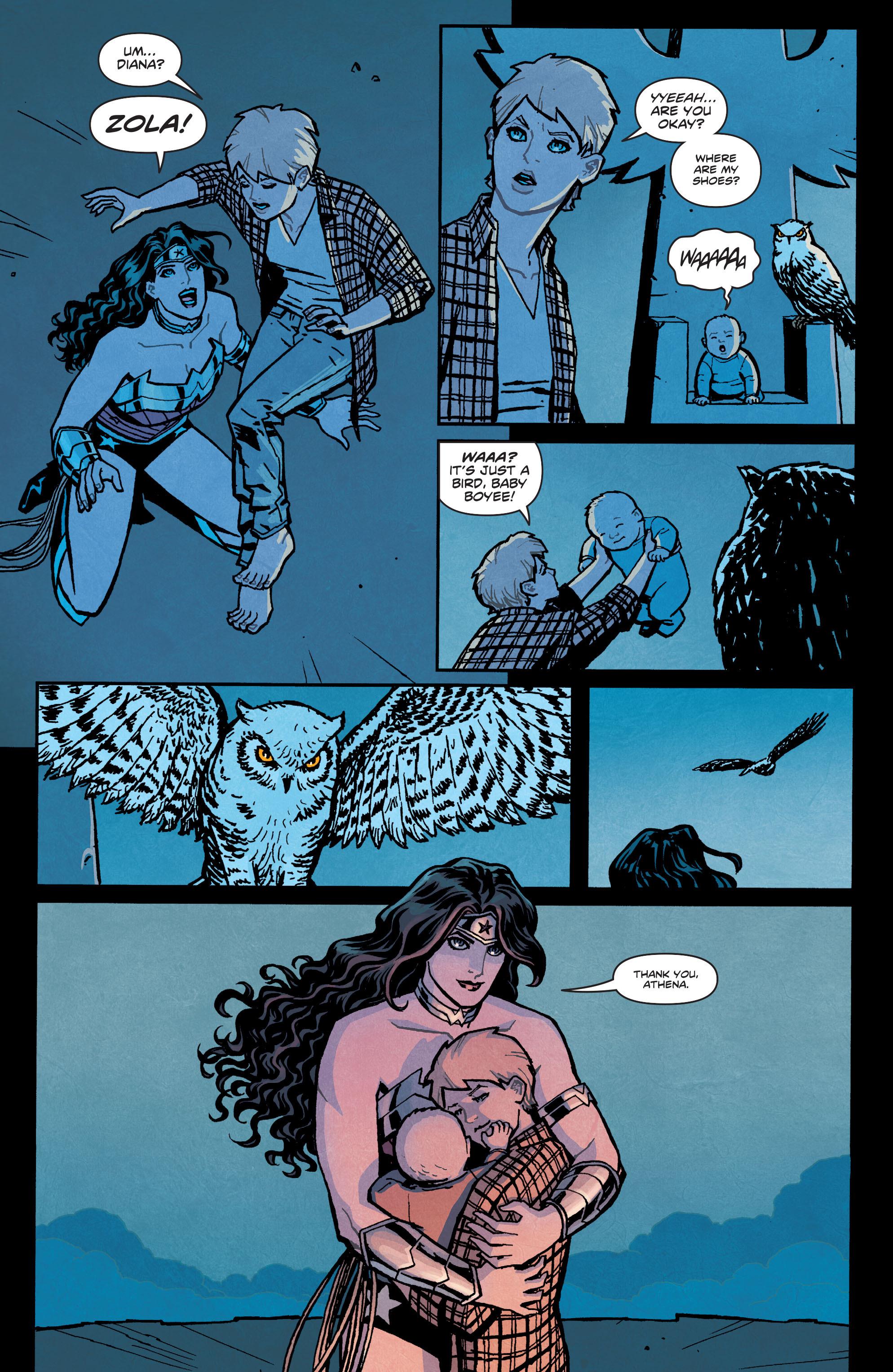 Read online Wonder Woman (2011) comic -  Issue #35 - 21
