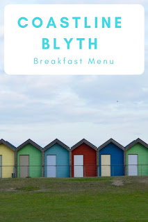 Coastline | Blyth | Breakfast Menu