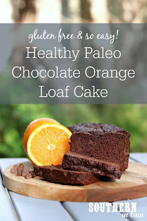 Healthy Paleo Chocolate Orange Cake Recipe