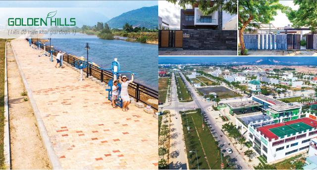 Hình ảnh thực tế tại Golden Hills Đà Nẵng