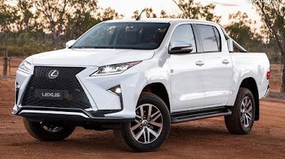 Lexus développe son premier pick-up de luxe