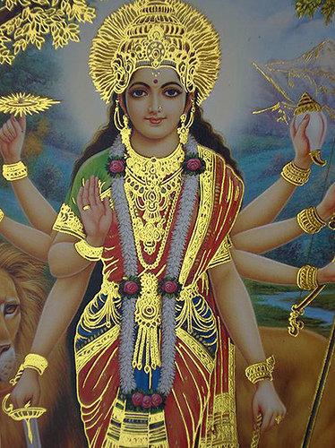 Durga Puja 3d Wallpaper Hindu Station Durga Mata