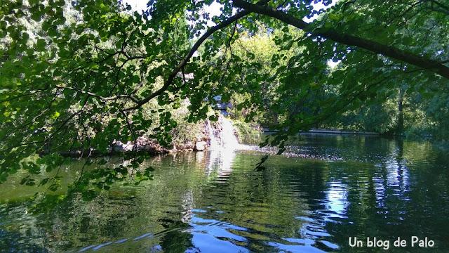 Las zonas más frescas de Madrid son los estanques de sus parques