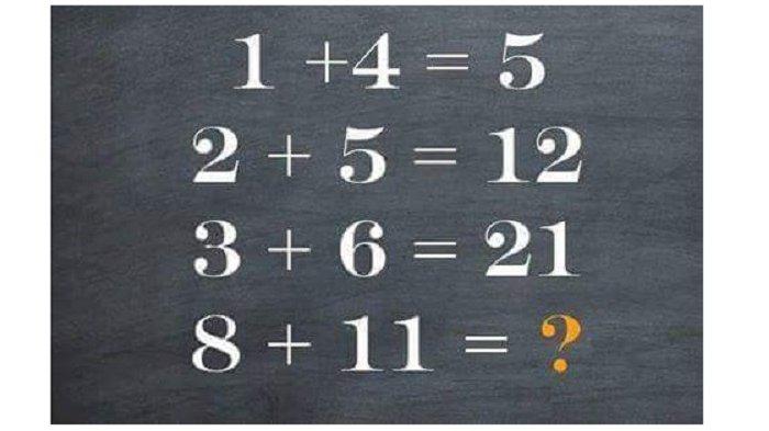 Soal Matematika Ini Sudah Bikin Jutaan Orang Kebingungan, Ada yang bisa Menyelesaikannya?
