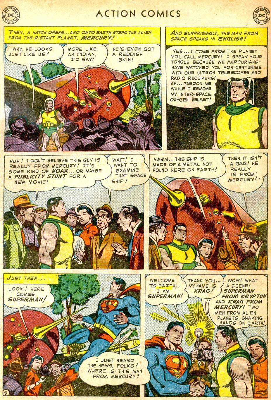Read online Action Comics (1938) comic -  Issue #165 - 5