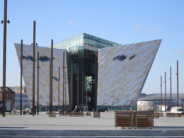 Что посмотреть в Белфасте бесплатно: квартал Титаник