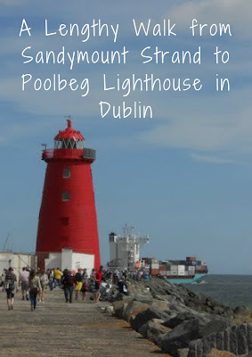 A Lengthy Autumn Walk from Sandymount Strand to Poolbeg Lighthouse in Dublin