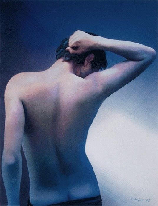 Red Dreams | Brita Seifert 1963 | German Fantastic/Surrealist painter