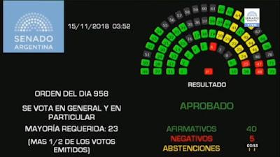 Áreas de violencia contra las mujeres, Educación, Salud, Niñez y Género, las grandes perdedores en el Presupuesto 2019 aprobado esta madrugada en el Senado