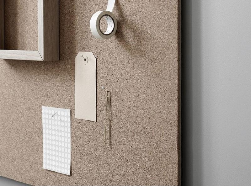 Il design sostenibile in sughero blog di arredamento e - Parete lavagna arredamento ...