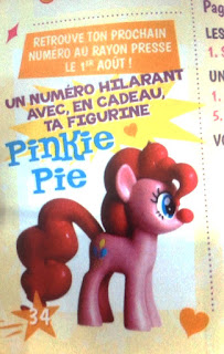 MLP Magazine Pinkie Pie Clown Figure