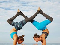 two person yoga challenge