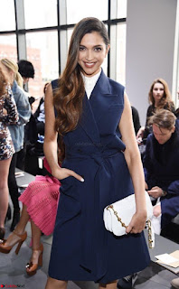 Deepika Padukone Gorgeous Debut at New York Fashion Week for Michael Kors show (9).jpg