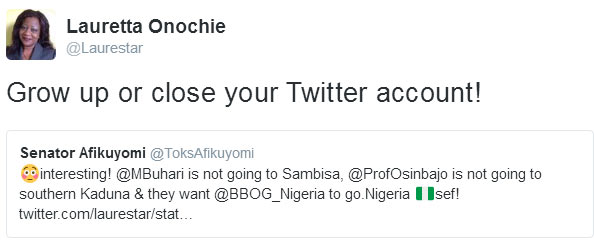Nigerian senator roasts President Buhari's special assistant on Twitter