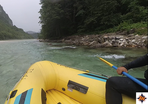Rafting sul fiume Isonzo
