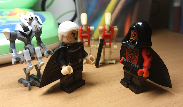Count Dooku amd Darth Maul Clone Wars Star Wars lego