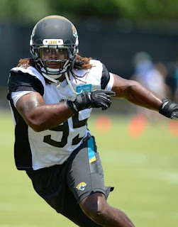 There s one other rookie with dreads with the Jaguars - free agent DE Nordly  Capi 4543bebdbde