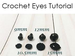 Crochet Eyes Tutorial - An Alternative To Plastic Safety Eyes