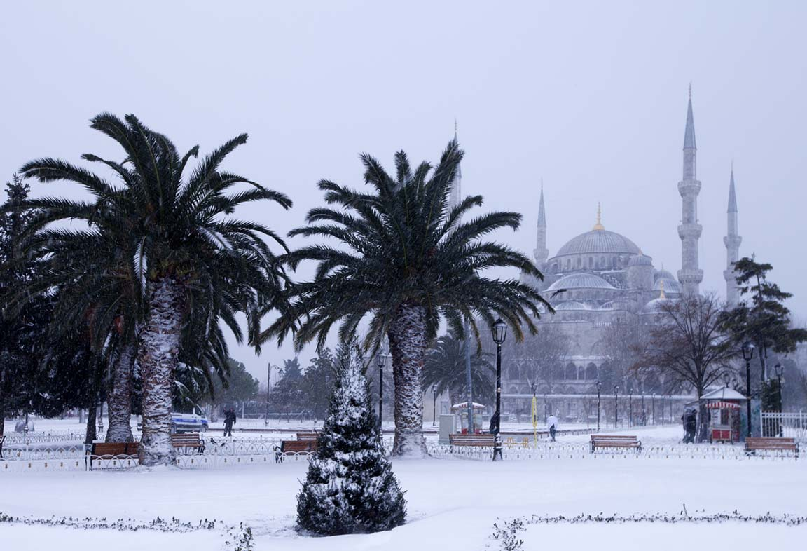 Travel to Istanbul with Friends in January