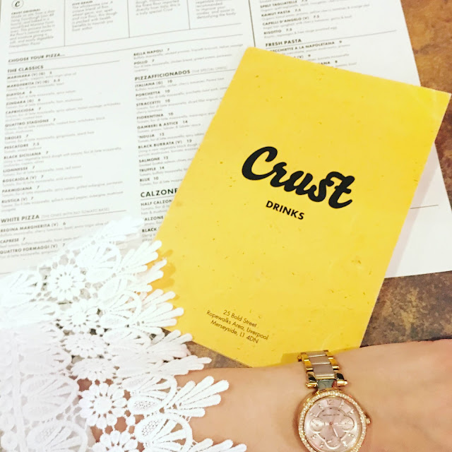 Crust Pizza Review Liverpool Bold Street