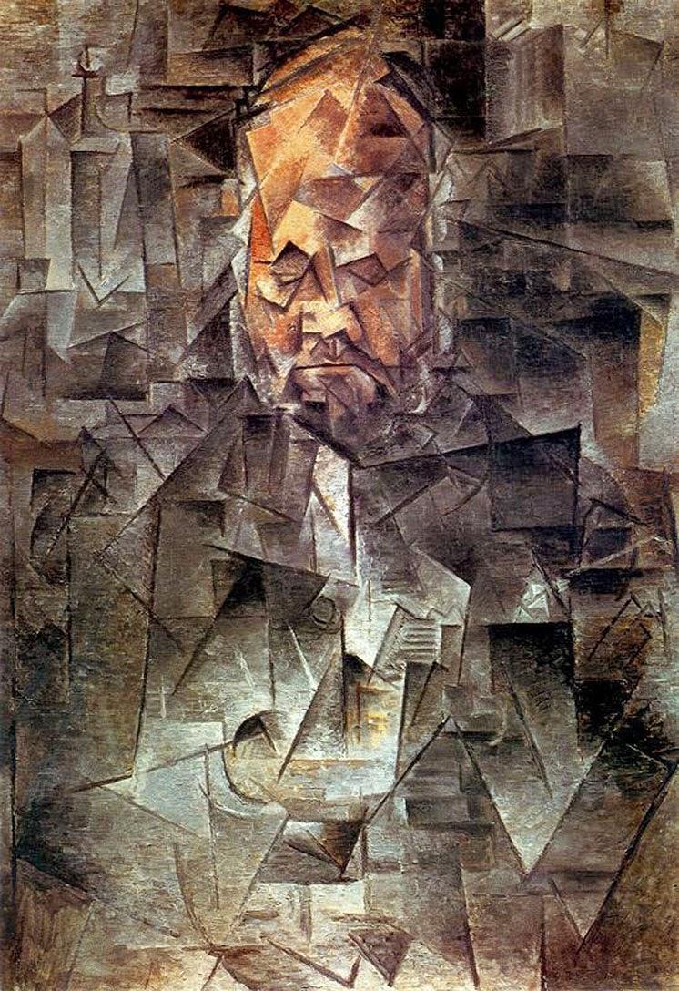 Retrato de Ambroise Vollard - Picasso e suas pinturas ~ O maior expoente da Arte Moderna