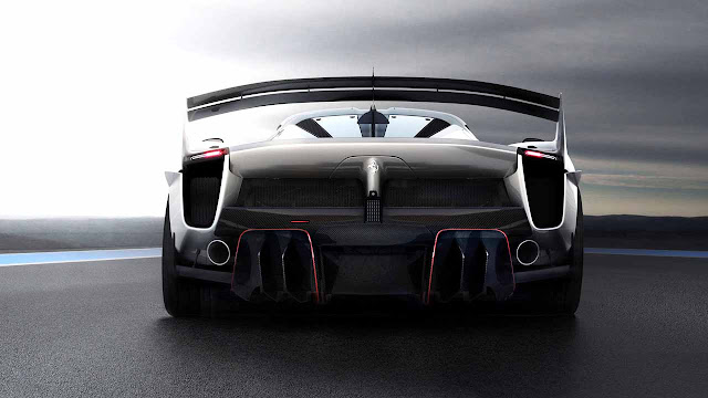 The Ferrari FXX-K Evo has arrived with active aerodynamics