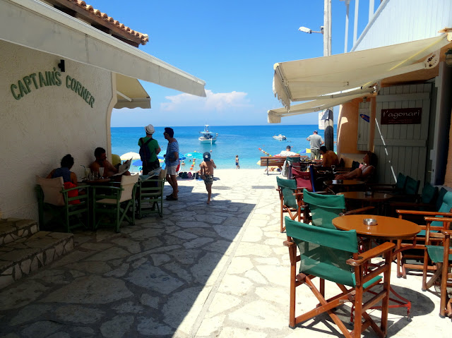 Captain's Corner Agios Nikitas Village in Lefkada Island, Greece