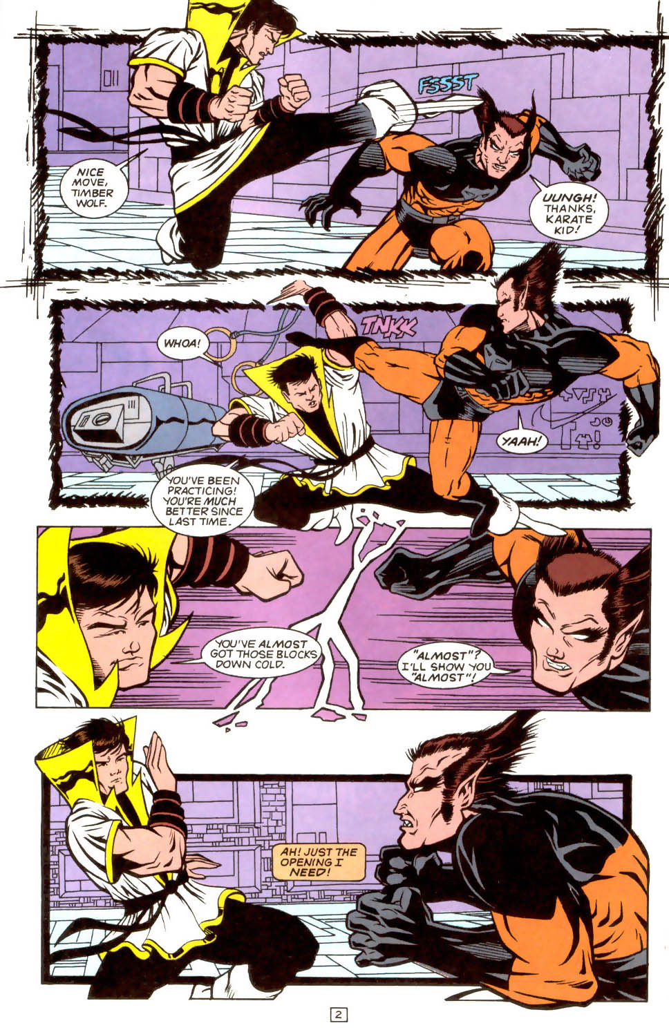 Legion of Super-Heroes (1989) 52 Page 2