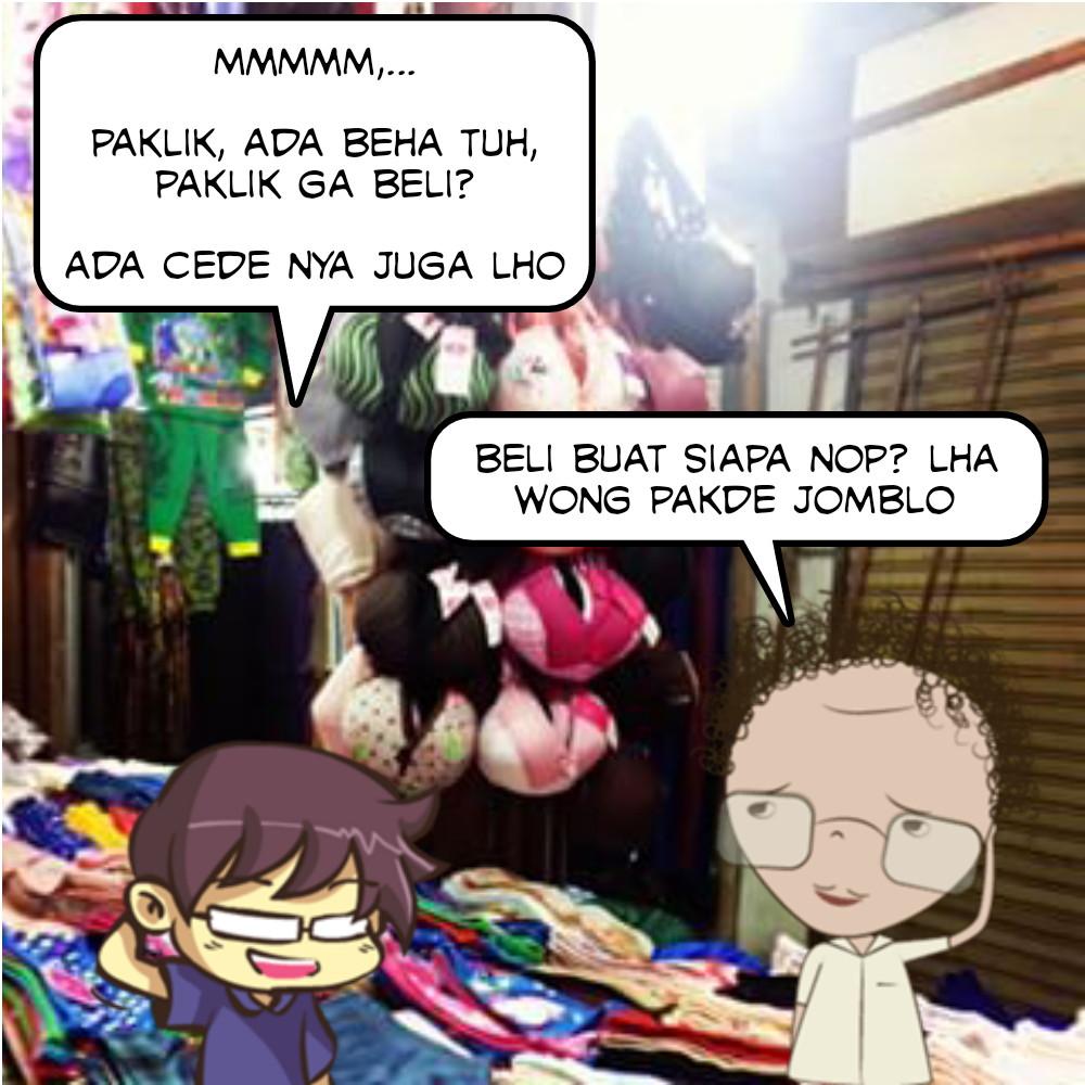 Beli Beha Buat Pacar di Pasar Malam - Baca Komik - strip.dhocnet.info