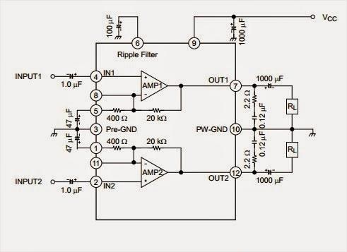 AmplifierCircuits.com: Audio Power Amp