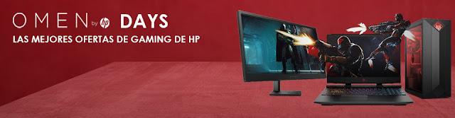 Mejores 8 ofertas HP Omen Days de PcComponentes