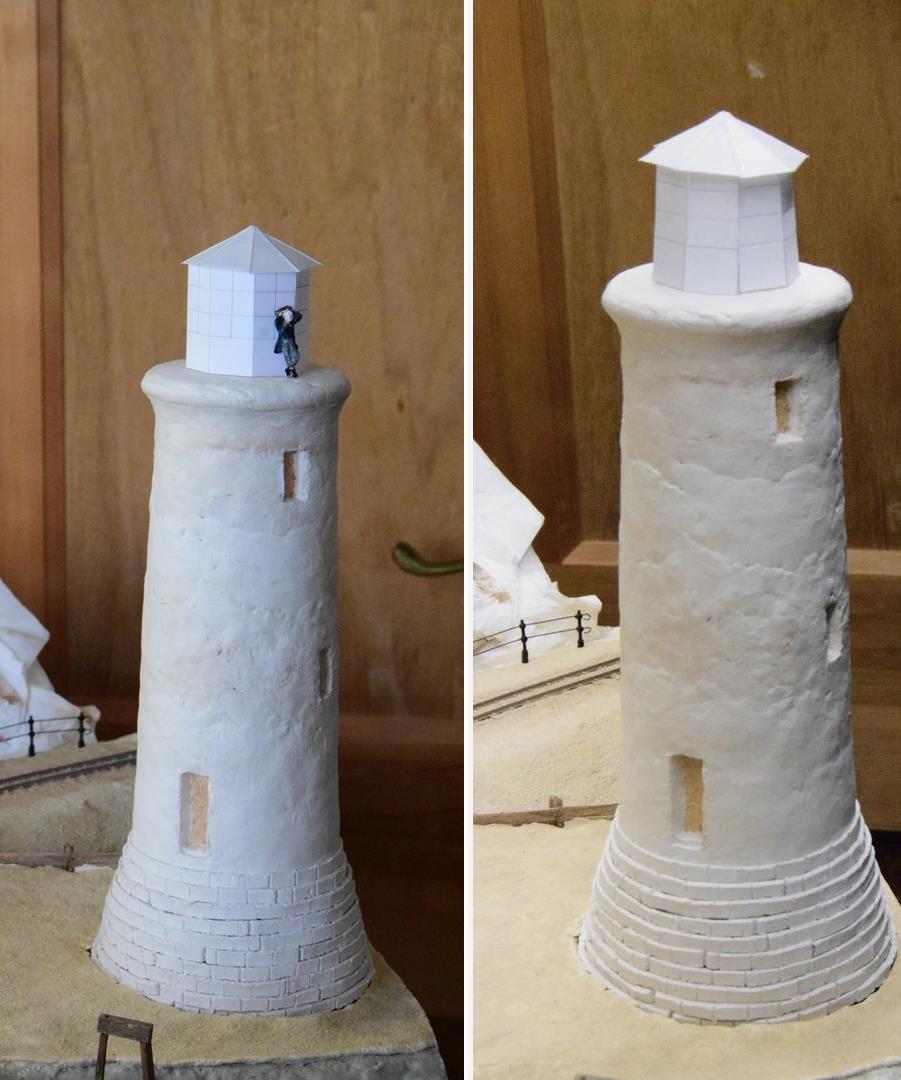 Jams Modelmaking Sandy Shores Lighthouse Part 4