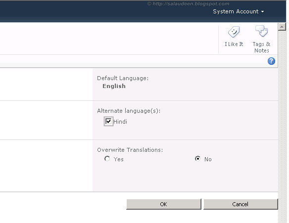 multilingual support for sharepoint 2010