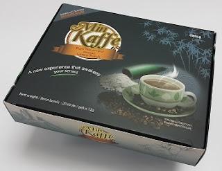 Min Kaffe, Mineral Coffee, Harga baru Mineral Coffee, Hai-O Mineral Coffee, Kopi Garam Buluh