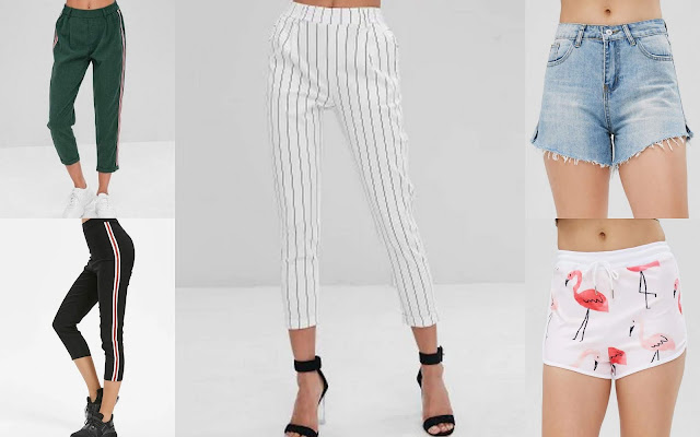 zaful trousers