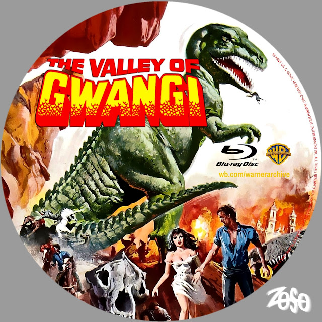 The Valley of Gwangi Bluray Label