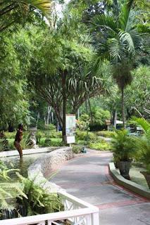 Riviera Garden Walkway.