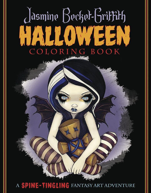 goth shopaholic new gothic fantasy coloring book from jasmine becket griffith - Gothic Coloring Book