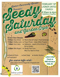 Ladner Seedy Saturday & Garden Expo 2017 News