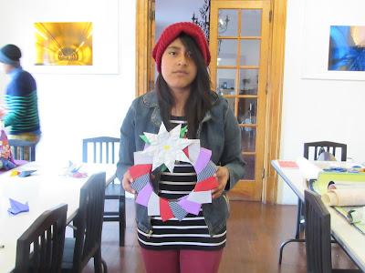 Origami, muestra