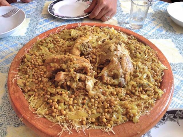 Rfissa Au Poulet Marocain