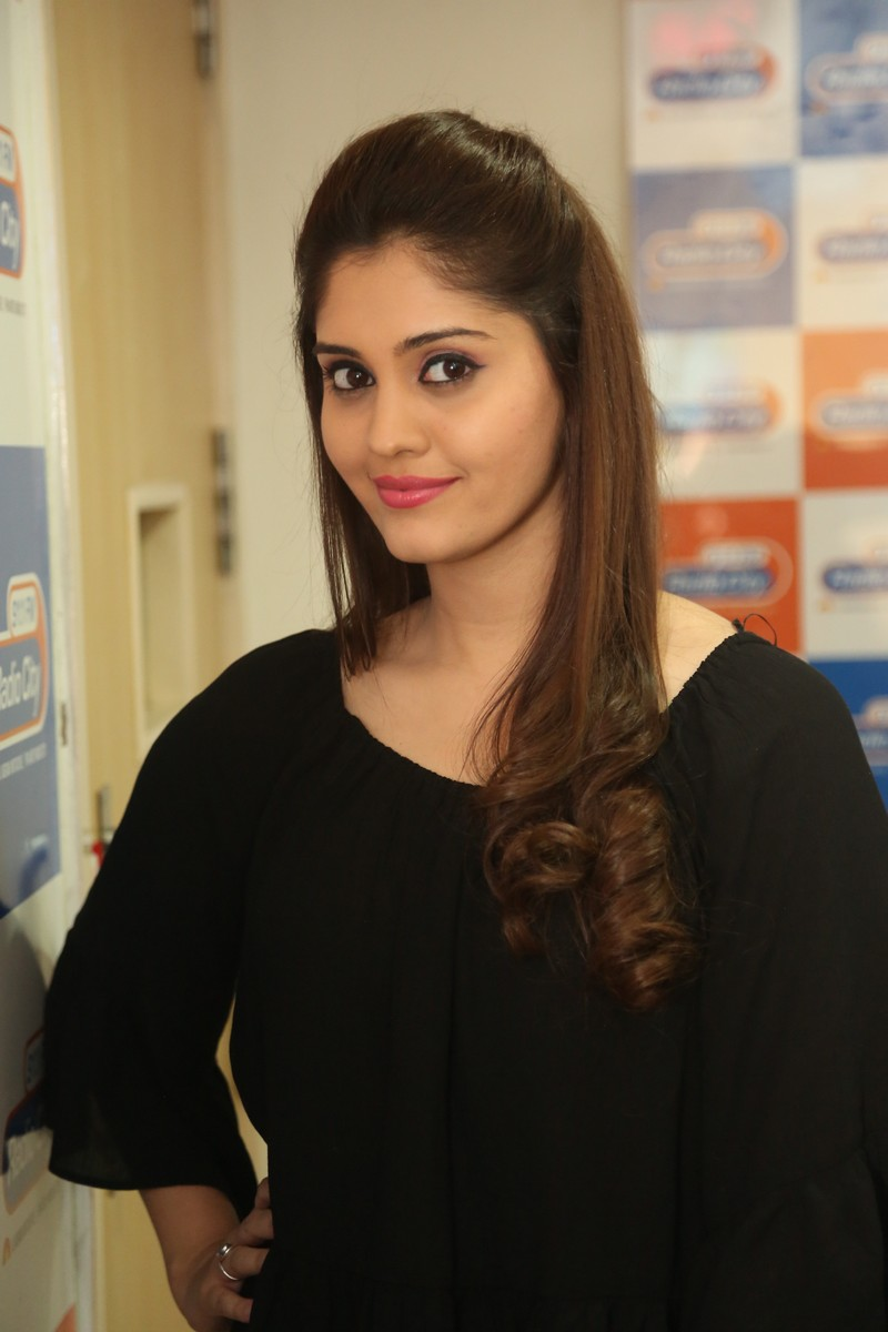 Actress Surabhi Latest Photos In Black Dress
