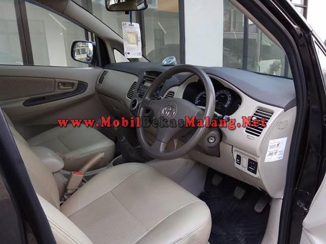 Toyota Innova G 2.0 tahun 2010, bekas