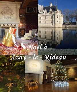 visite chateau azay rideau noel touraine