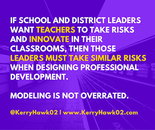 Innovative Teaching Requires Innovative PD: 5 Solutions