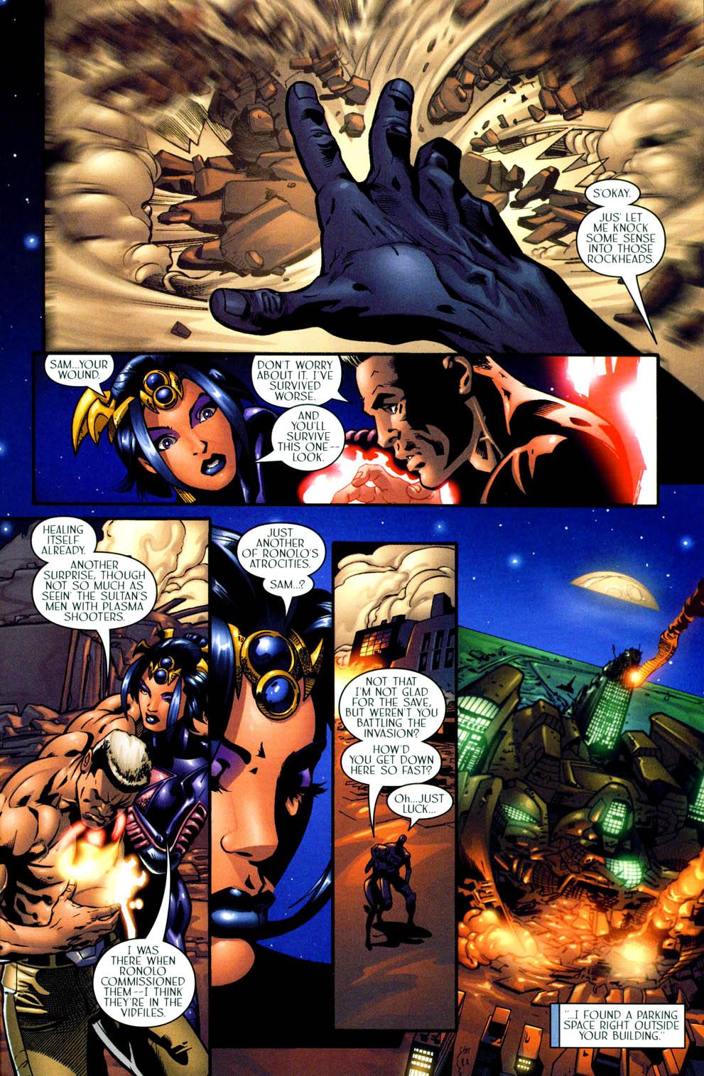 Read online Sigil (2000) comic -  Issue #11 - 22
